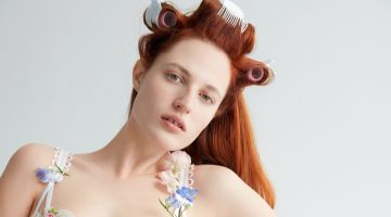 Julia Banas Blooms in FL&L x Victoria's Secret Summer 2021 Campaign