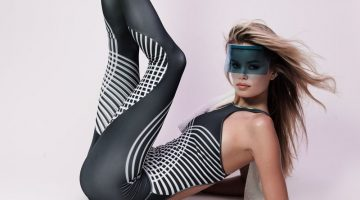 Frida Aasen Gets Sporty Chic for Esquire Latin America