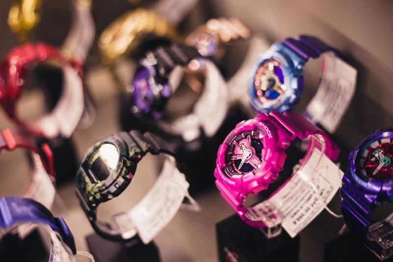 G Shock Watches Display
