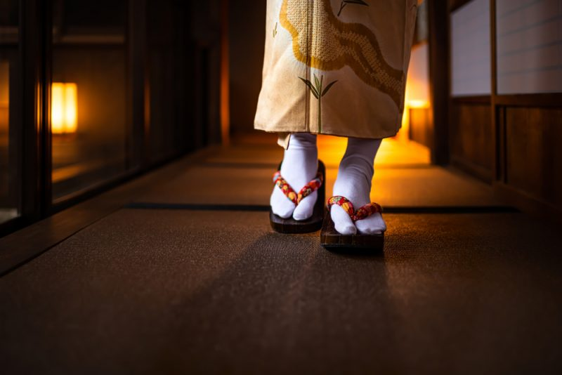 Geta Shoes Tabi Socks