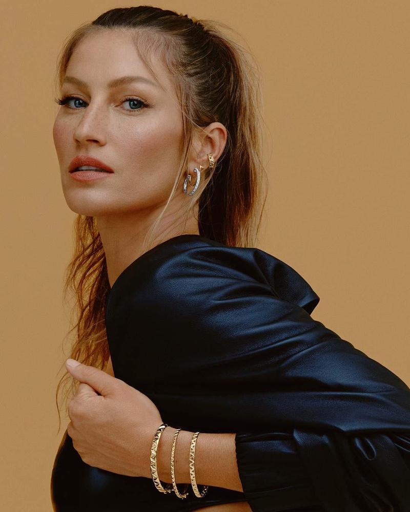 Gisele Bundchen stars in Vivara Jewelry 2021 campaign.