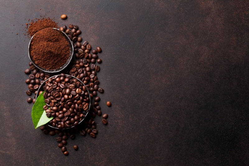 Grounded Coffee Beans