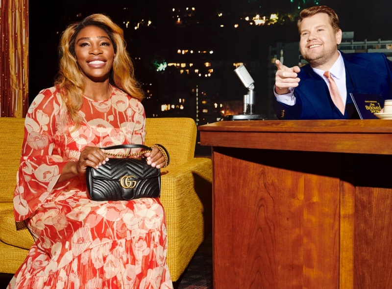 Serena Williams stars in Gucci Beloved handbag campaign.