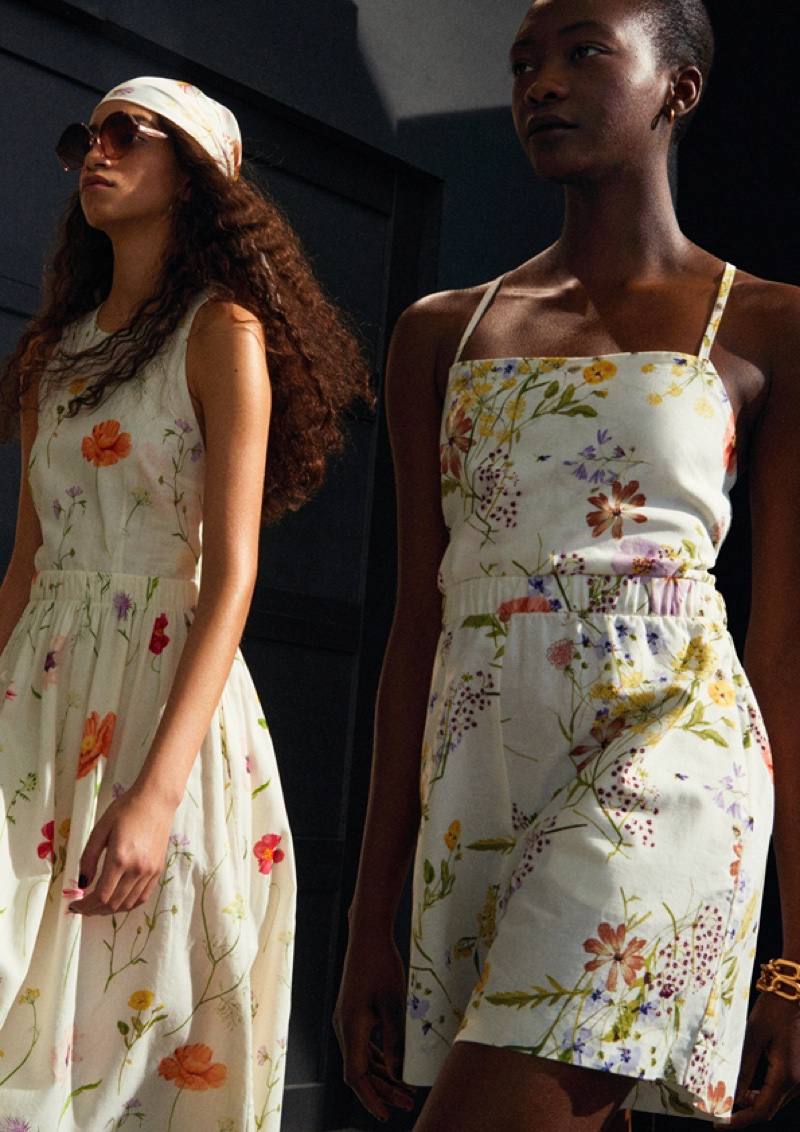 A Meadow of Wildflowers: H&M Unveils Spring Floral Fashions