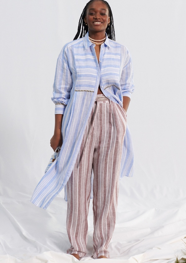 Liya Kebede Designs New lemlem x H&M Collaboration
