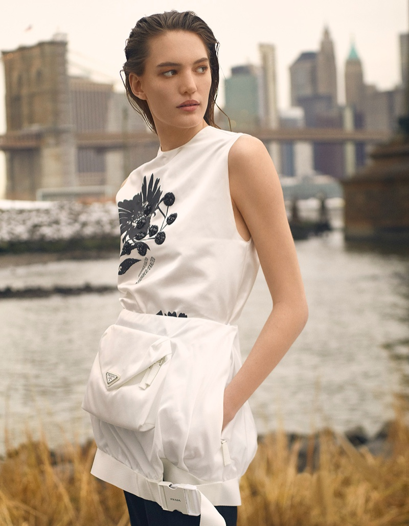 Izzy Wild Poses in the Spring Collections for L'Officiel Thailand