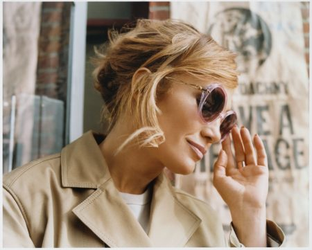 Coach taps Jennifer Lopez for spring 2021 eyewear campaign.