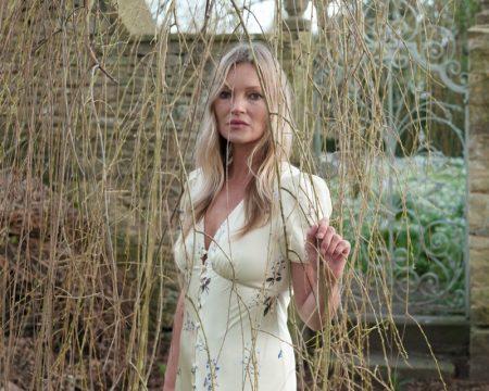 Kate Moss stars in Self-Portrait pre-fall 2021 campaign.
