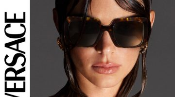 Versace Eyewear unveils spring-summer 2021 campaign with Kendall Jenner.