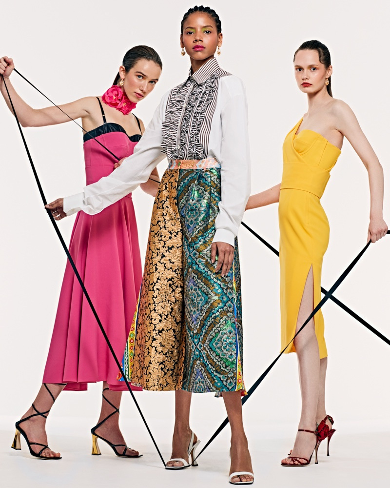 Aury, Ana & Anastasija Wear the Spring Collections for L'Officiel Mexico