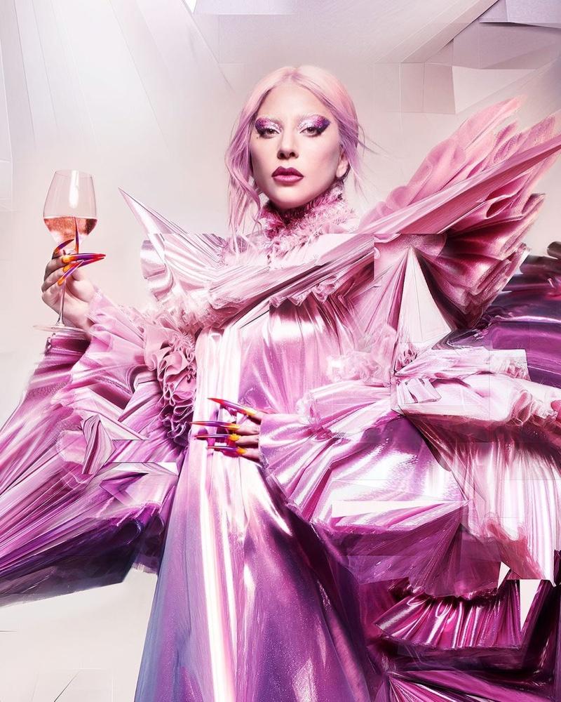 Dom Pérignon taps Lady Gaga for a new campaign.