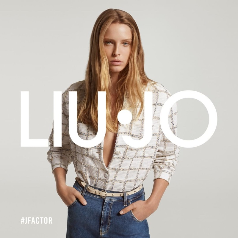 Liu Jo taps Abby Champion for spring-summer 2021 #JFactor campaign.
