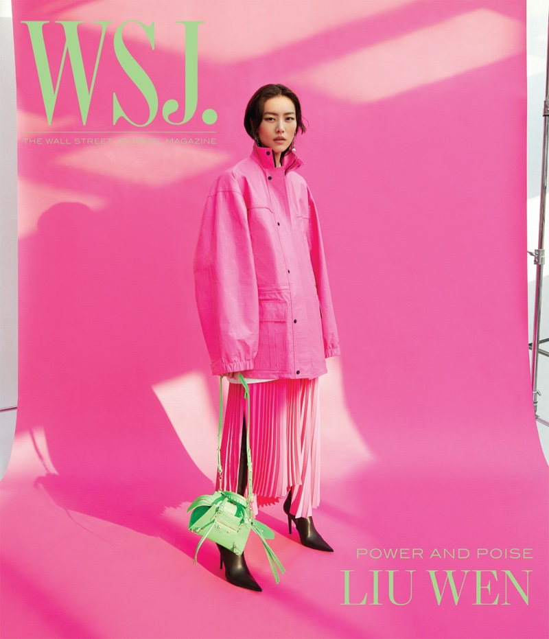 Liu Wen on WSJ. Magazine Digital April 2021 Cover.