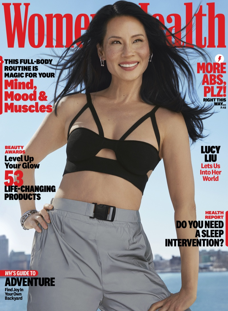 Lucy Liu on Women's Health May 2021 Cover