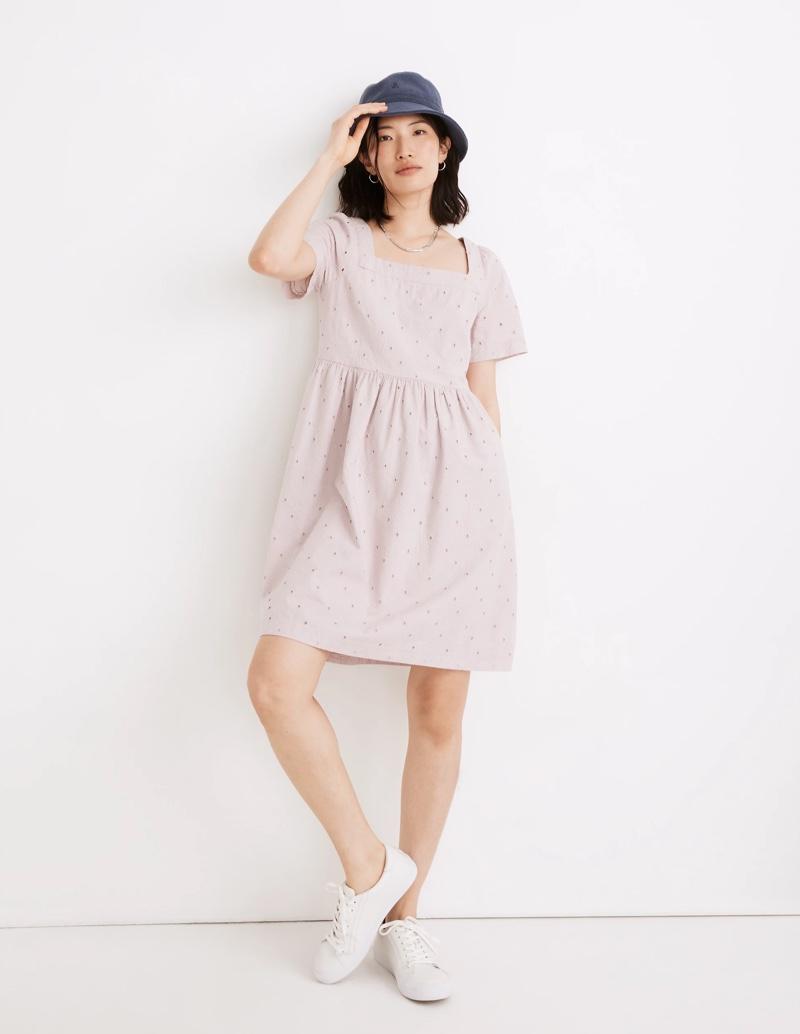 Madewell Eyelet Allie Mini Dress $108