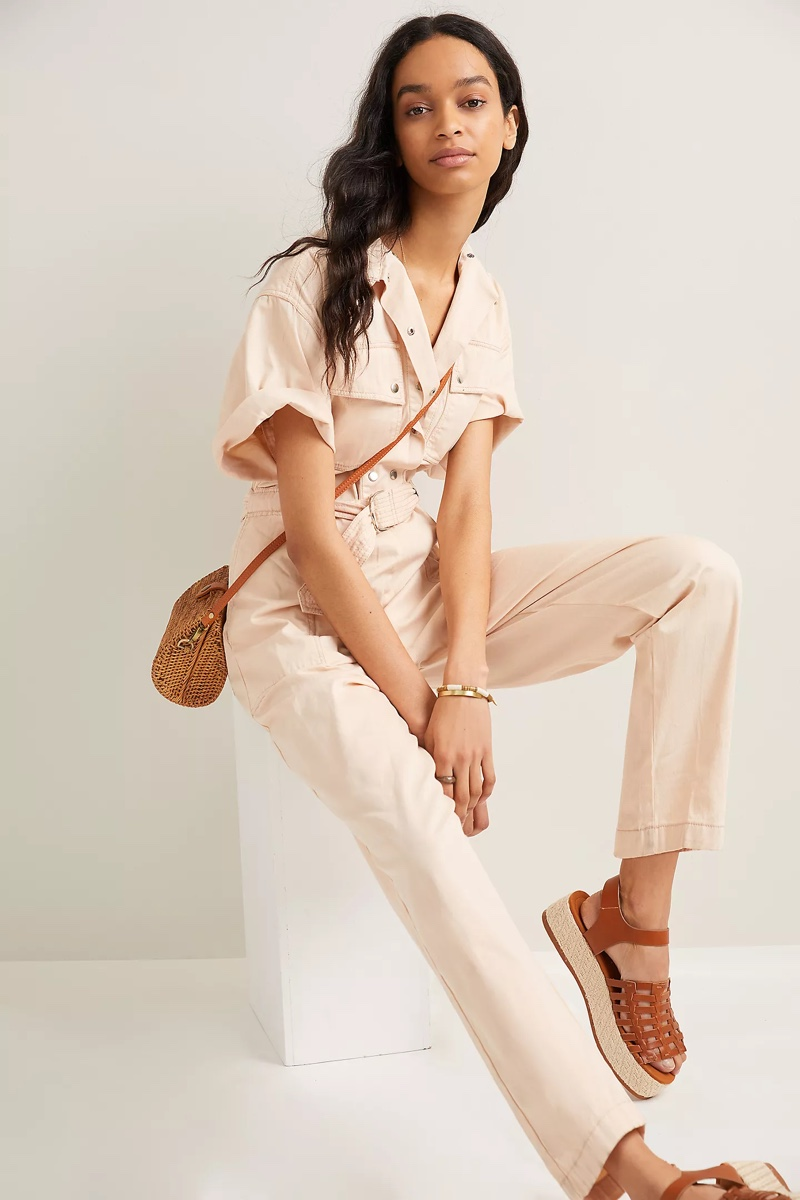 Magli Pascal Dylan Belted Utility Jumpsuit $390