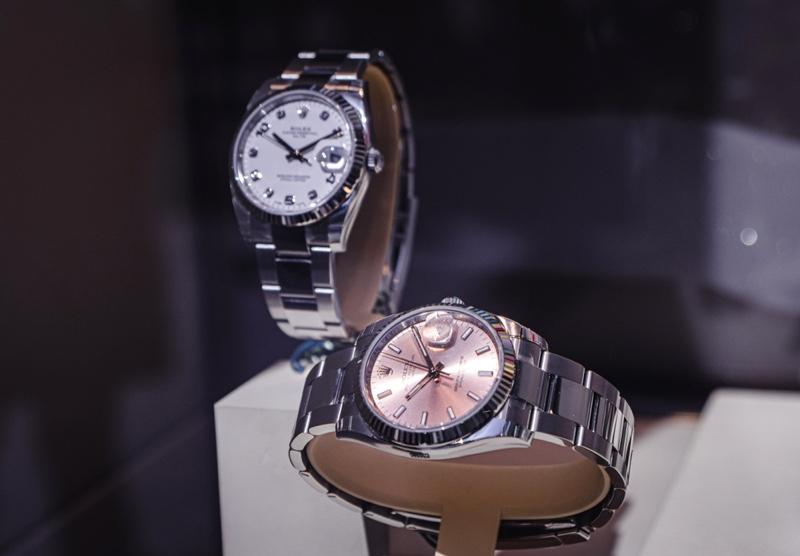 Rolex Watches Women's Display
