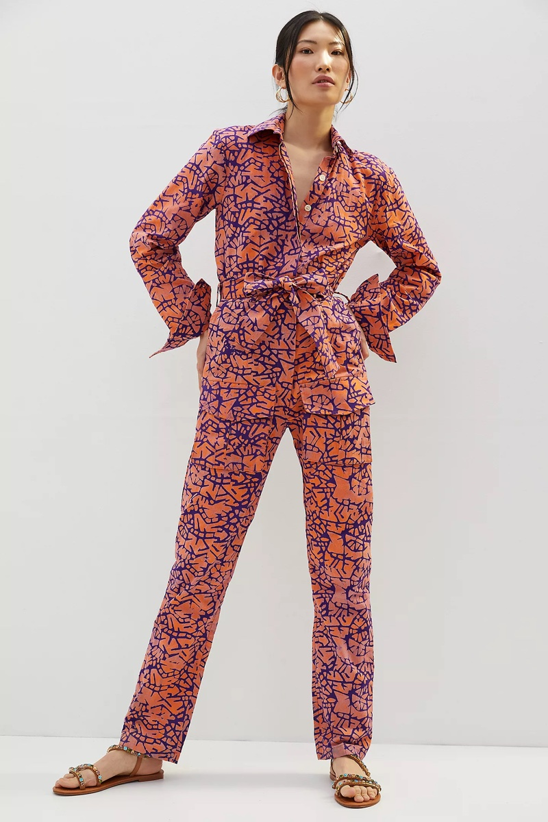SIKA by Anthropologie Printed Utility Jumpsuit $288