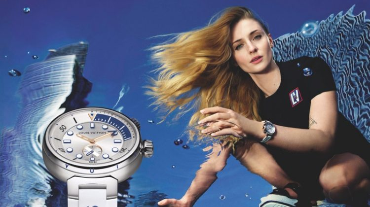 Louis Vuitton unveils Tambour Street Diver watch campaign.