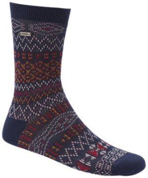 Sorel Women's Cotton Jacquard Pattern Crew Socks-