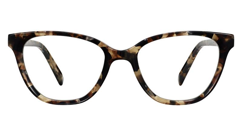 Warby Parker Corretta Glasses in Ecru Tortoise $95