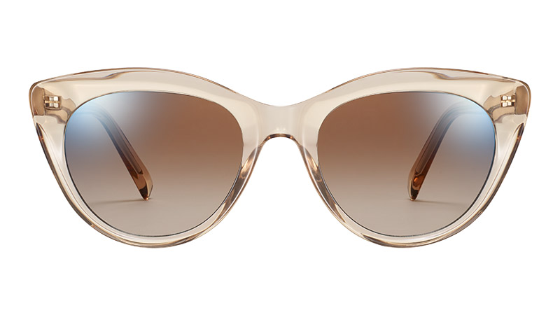Warby Parker Leta Sunglasses in Nutmeg Crystal $95