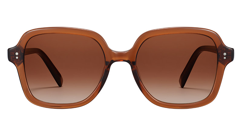 Warby Parker Priscilla Sunglasses in Cacao Crystal $95