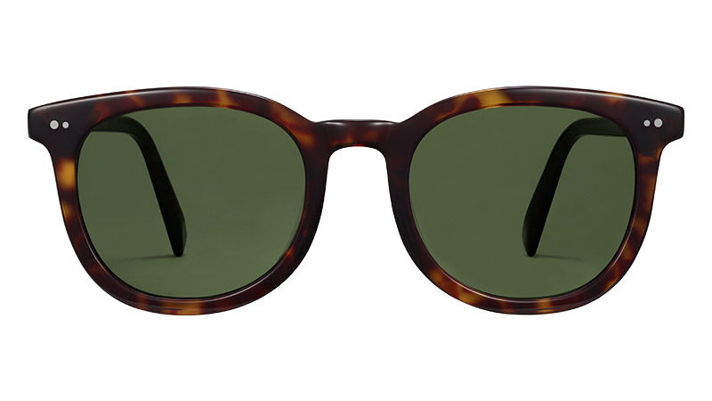 Warby Parker Ryland Sunglasses in Cognac Tortoise $95