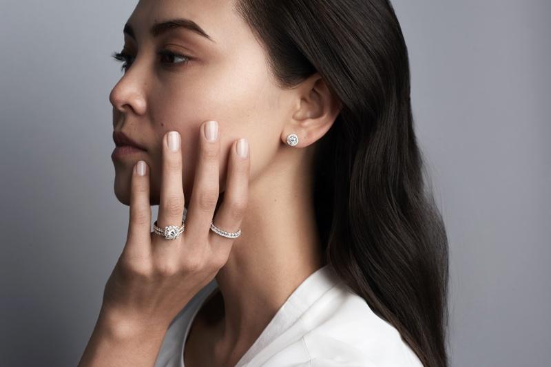 Model Rings Jewelry