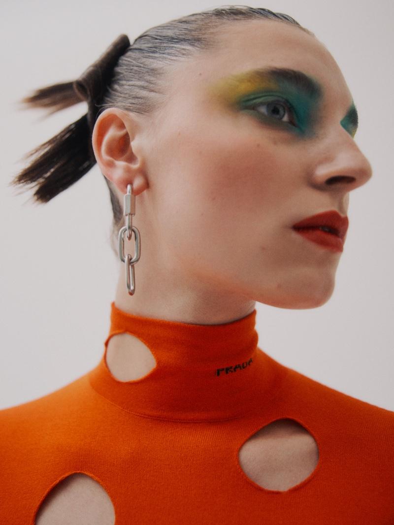 Ansley Gulielmi Models Bold Beauty for Vogue Spain