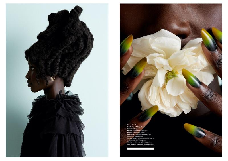 Inner Life: Awuoi & Marique for MAKE Magazine UK