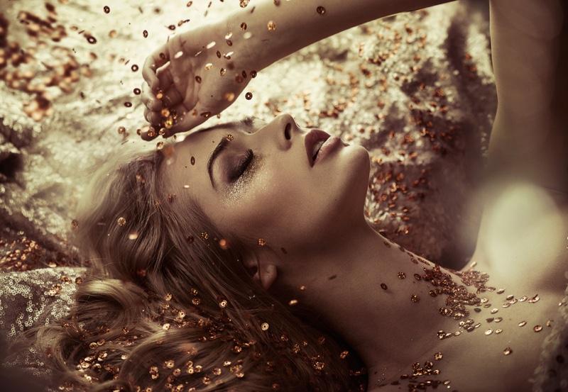 Beauty Glitter Gold Luxury Glamour