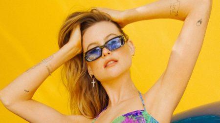Behati Prinsloo is Ready for Summer in Reina Olga Swim Collaboration
