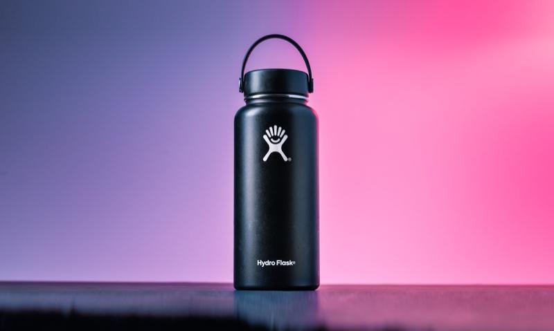 Black Hydro Flask Water Bottle