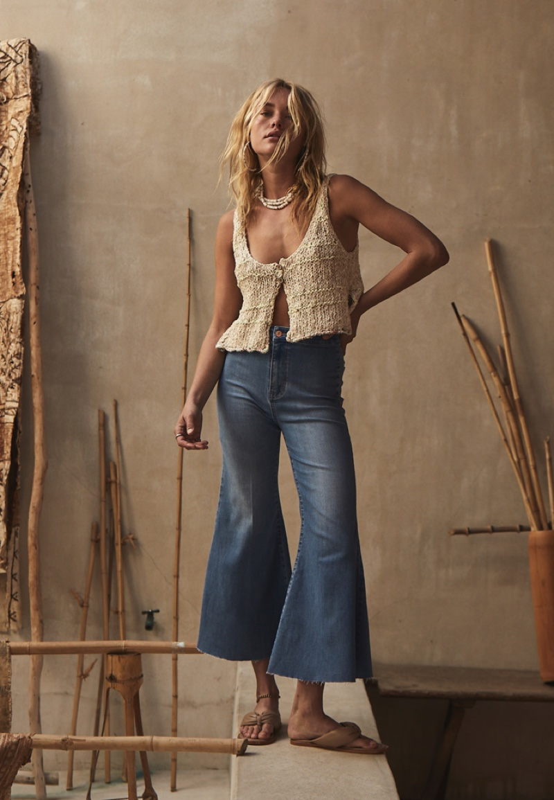 Brooke Perry poses for Free People May 2021 catalog. Photo: Adam Franzino