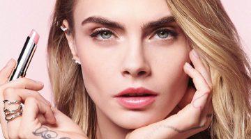 Cara Delevingne stars in Dior Addict Lip Glow campaign.