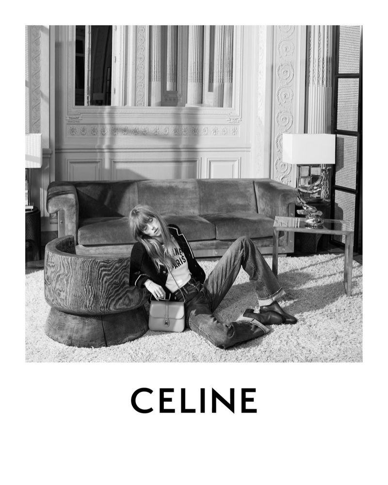 Hedi Slimane photographs Celine Les Grand Classiques session 3 campaign.