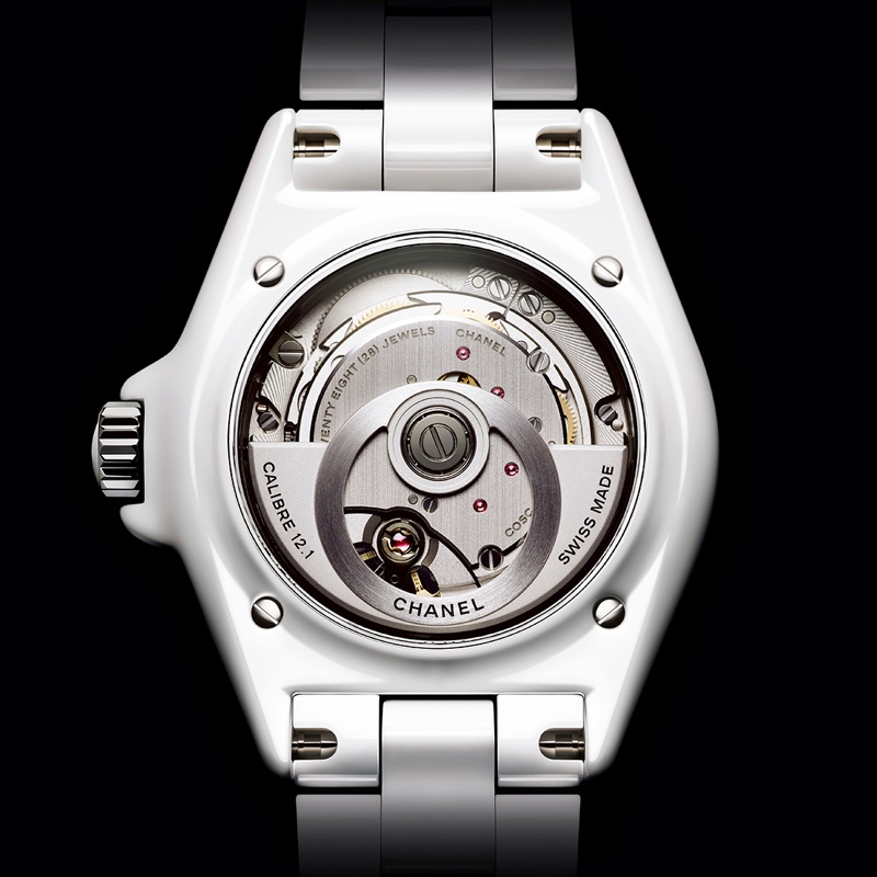 A look at Chanel's J12 Watch.