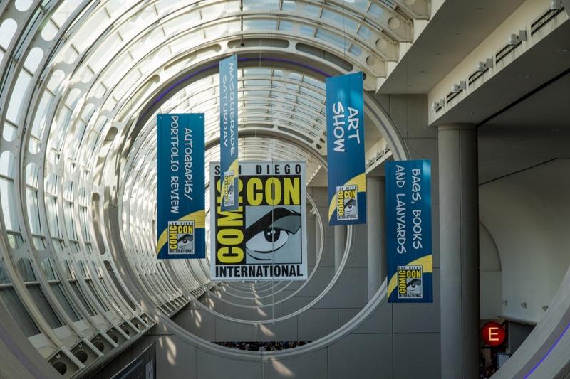 Comic Con Sign San Diego