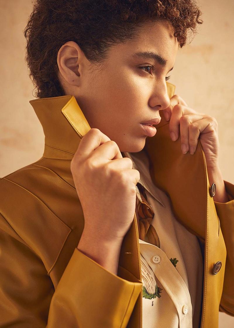 Dani Sousa Wears Statement Styles for Latest Magazine