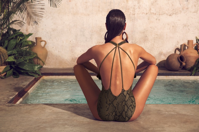 Dolores Cortés Swimwear spring-summer 2021 campaign. Photo: Richard Ramos
