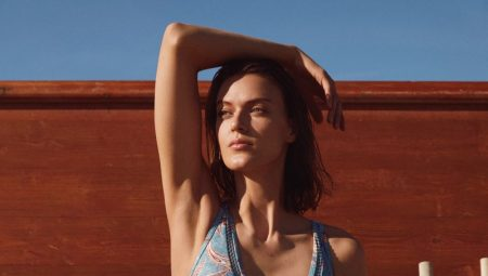 Tess Hellfeuer Hits the Beach for Esprit Swim 2021 Collection