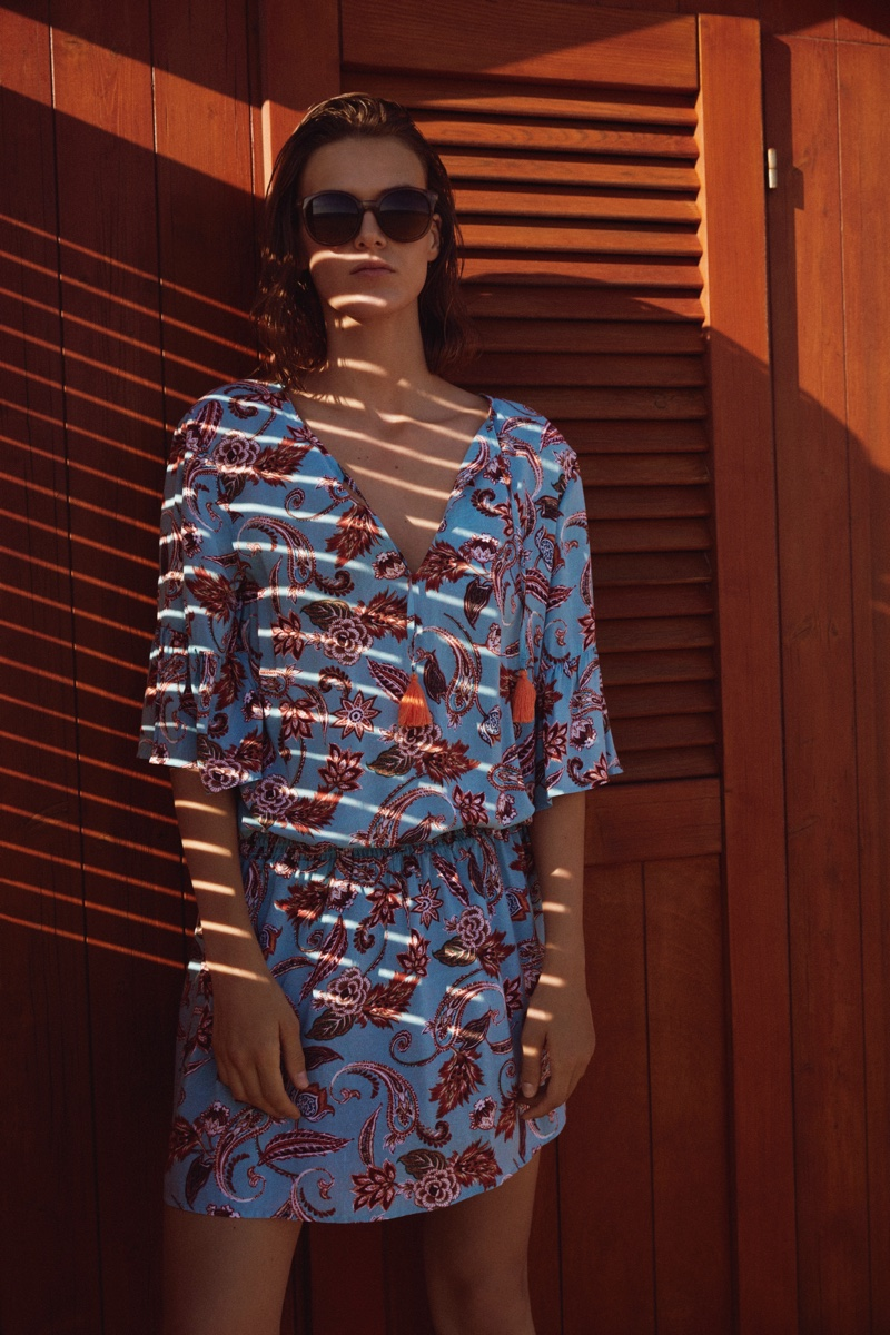 Beach coverups stand out in Esprit's swim spring-summer 2021 collection.