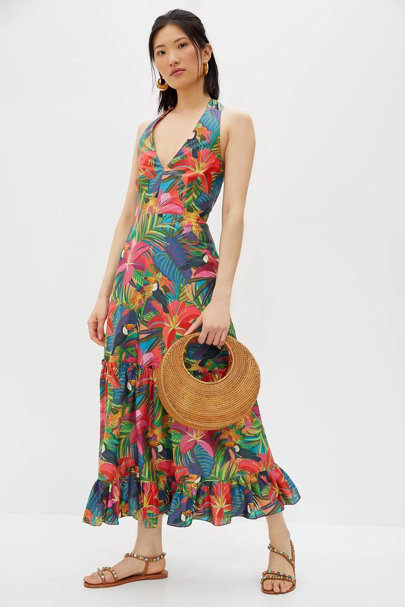 Farm Rio Brighton Maxi Dress $228