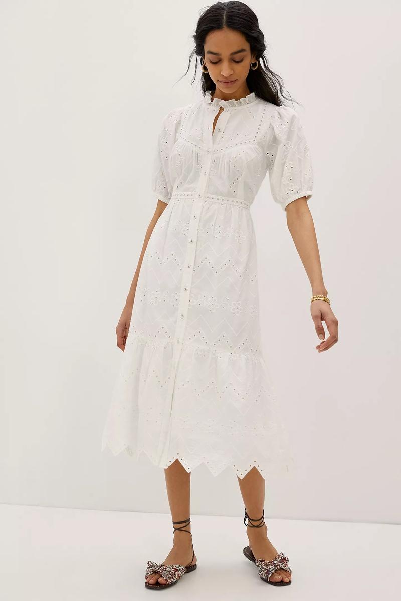 Forever That Girl Cymbeline Eyelet Maxi Dress $248