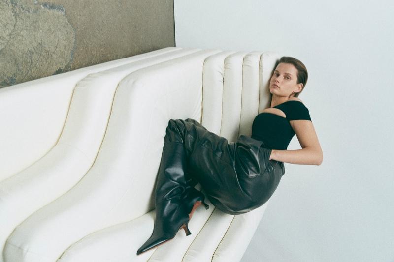 Giedre Dukauskaite Is On Display for LoveWant Magazine