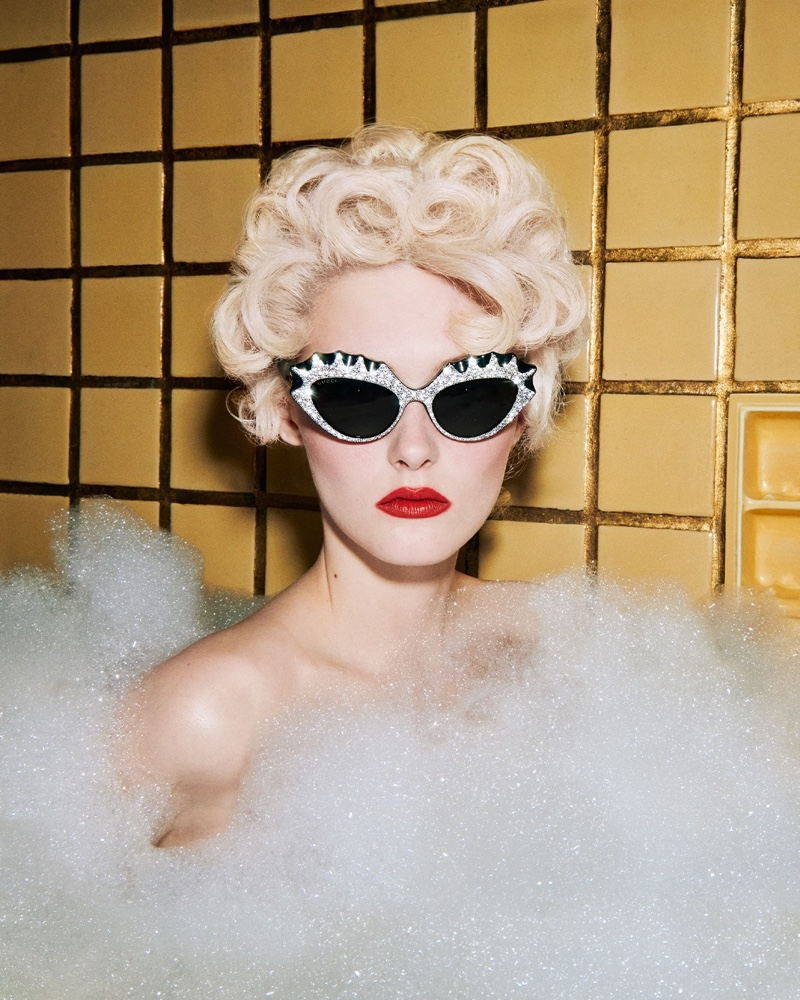 Gucci Hollywood Forever 2021 sunglasses campaign.