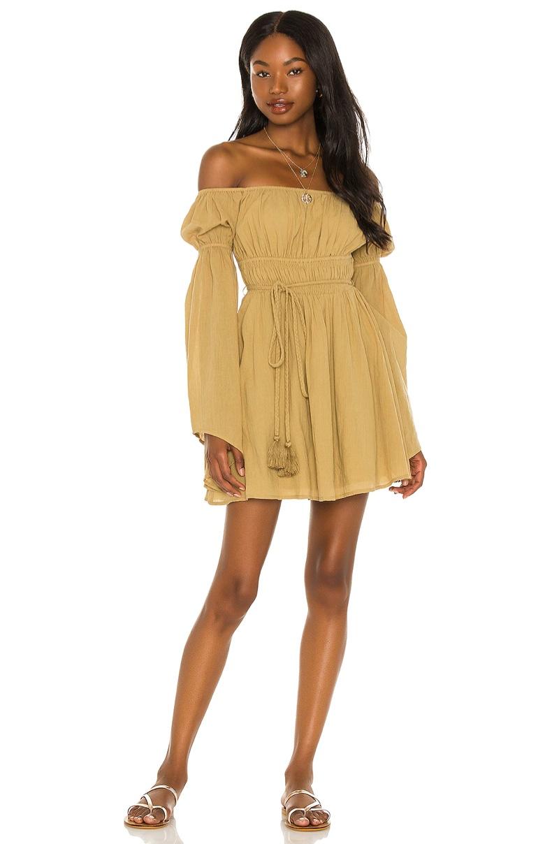 House of Harlow 1960 x Sofia Richie Amalfi Mini Dress $228