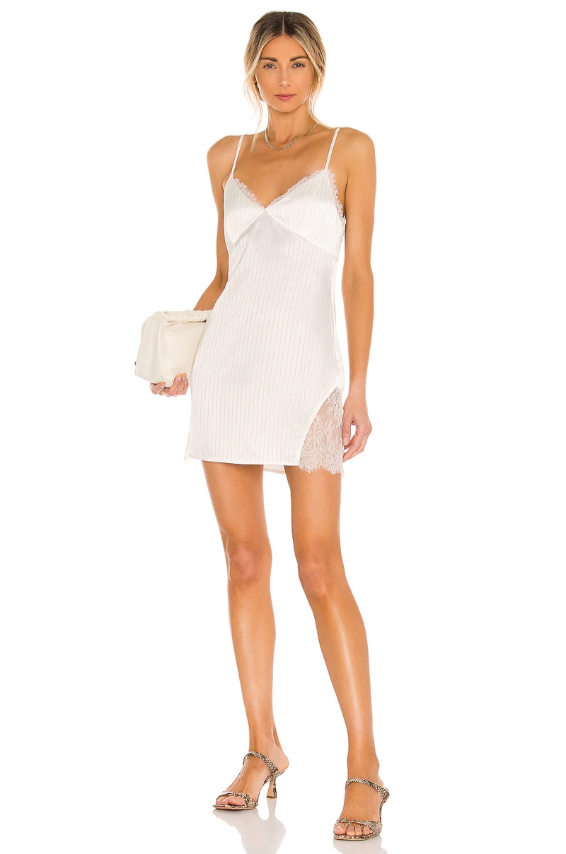 House of Harlow 1960 x Sofia Richie Raphia Mini Dress $168
