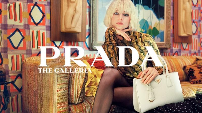 Prada unveils Galleria handbag campaign.